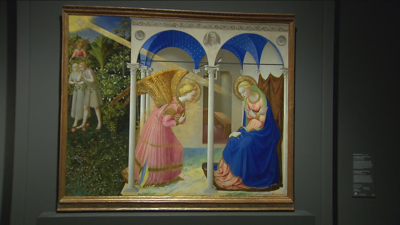 El Prado exhibe obras de Fra Angelico y el arte del quattrocento italiano