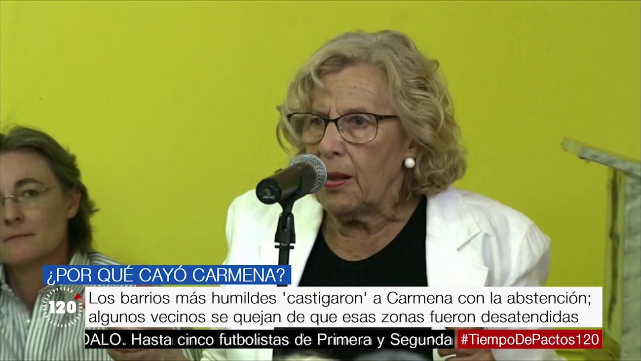 Las causas por las que Carmena ha perdido la Alcaldía de Madrid