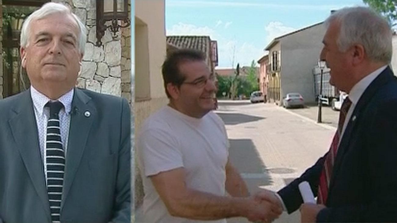 """Carlos Rivera, 40 años como alcalde en Torremocha: """"Los vecinos deciden quién se queda o se va"""""""
