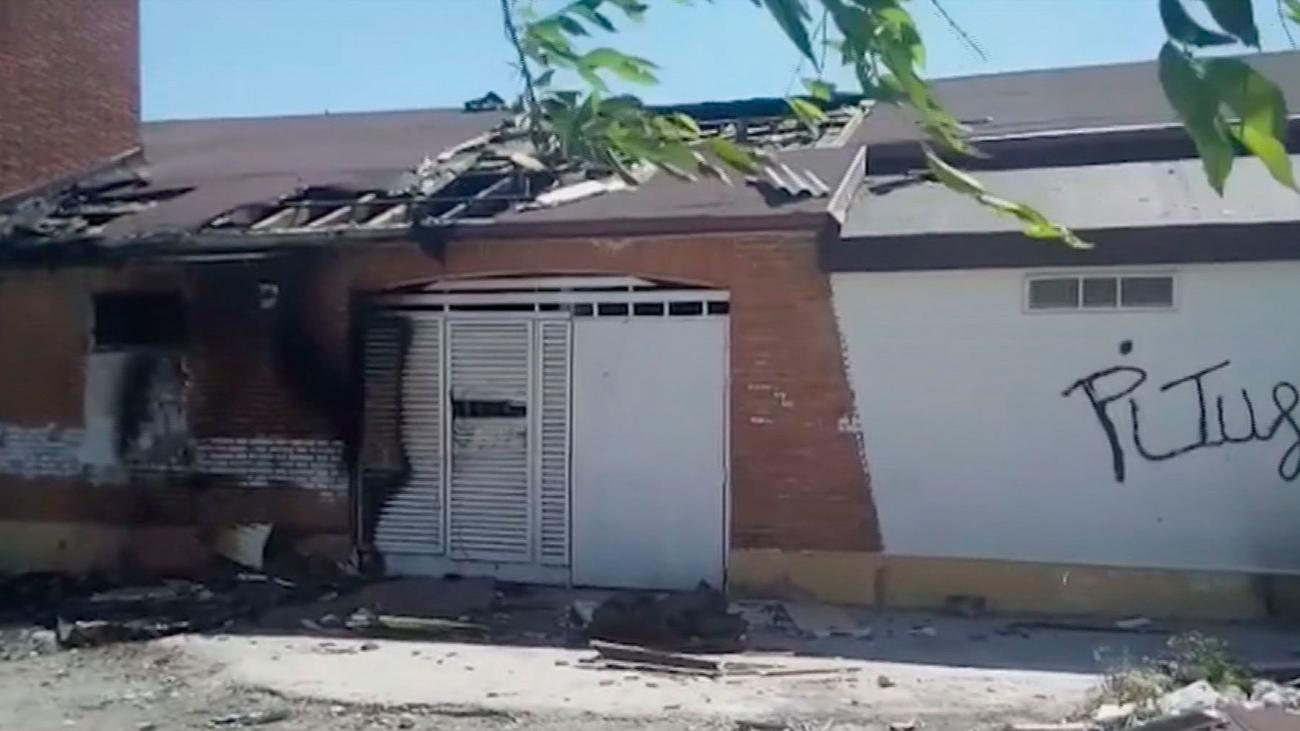 Una pelea causó el fuego que destrozó  la parroquia de Santo Domingo en la Cañada Real