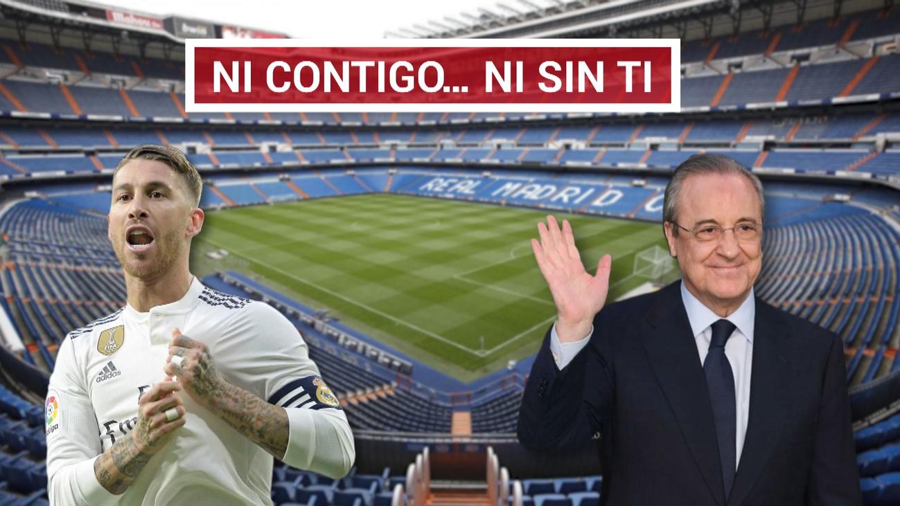 Florentino cierra la puerta de salida a Sergio Ramos
