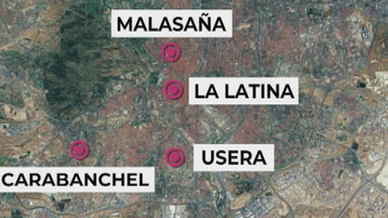 Los barrios más sucios de Madrid