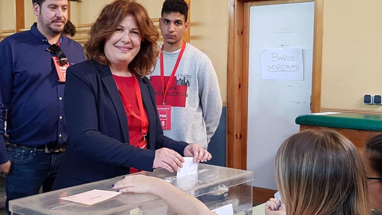 """Natalia de Andrés: """"Habrá un pacto de izquierdas en Alcorcón para buscar estabilidad"""""""