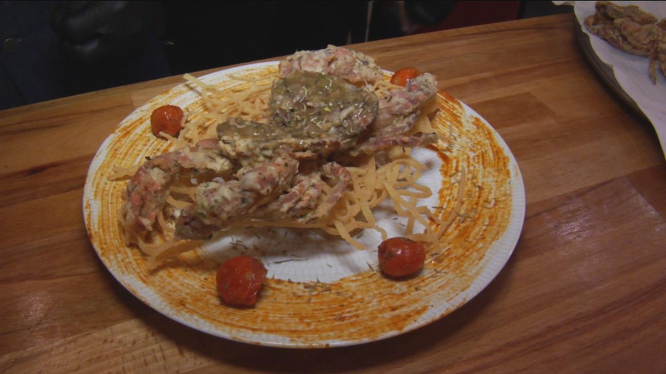 El cangrejo, mejor con cáscara