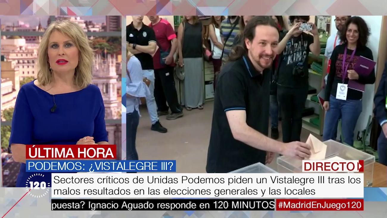 Sectores críticos de Unidas Podemos piden un Vistalegre III tras los malos resultados electorales