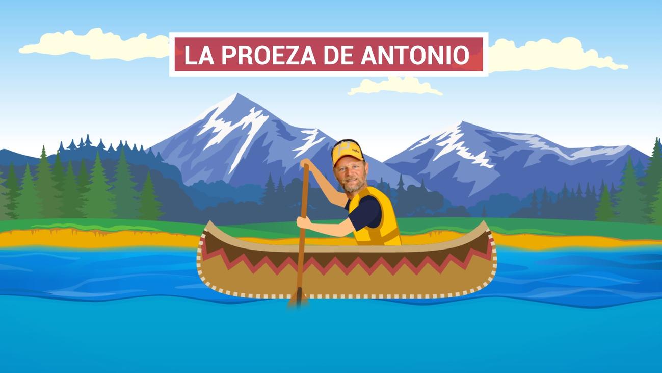 Antonio de la Rosa quiere cruzar el Pacífico a remo