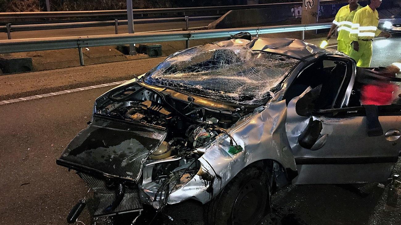 Mueren tres jóvenes de entre 17 y 18 años en un accidente en la AP-9 en Vigo