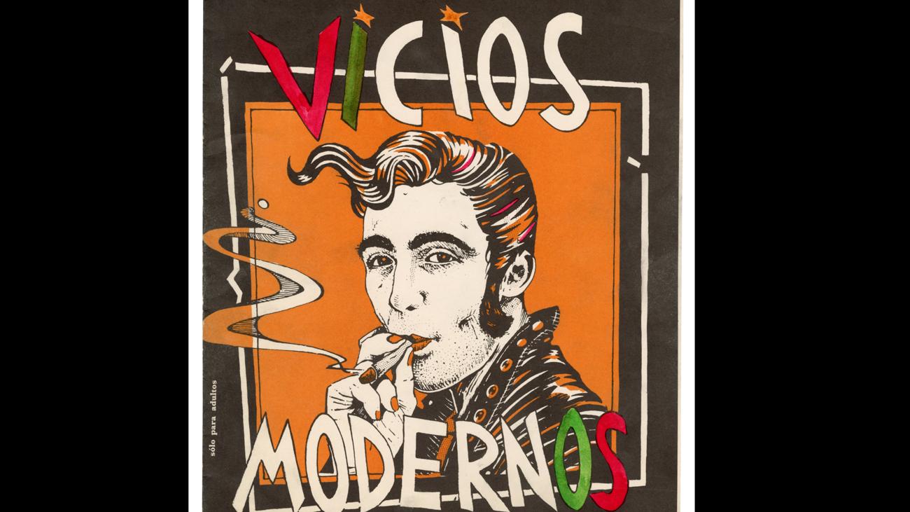 'Vicios Modernos. Ceesepe' recorre el vínculo del dibujante entre Las Ramblas y la Movida madrileña