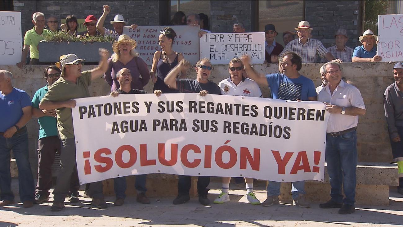 Los agricultores de la Vega del Jarama reclaman agua para regar sus huertos