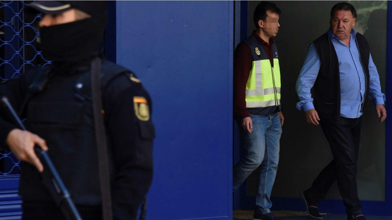 El presidente del Huesca, en libertad con cargos por presuntos amaños