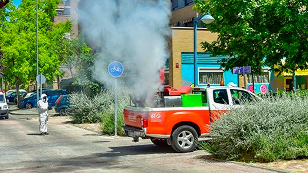 El Ayuntamiento de Torrejón de Ardoz intensifica  la campaña contra los mosquitos