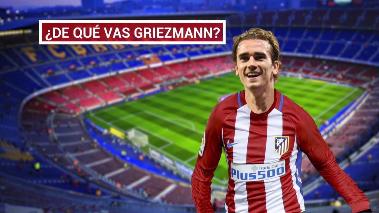 Griezmann negoció con el Barça en noviembre y firmó en marzo