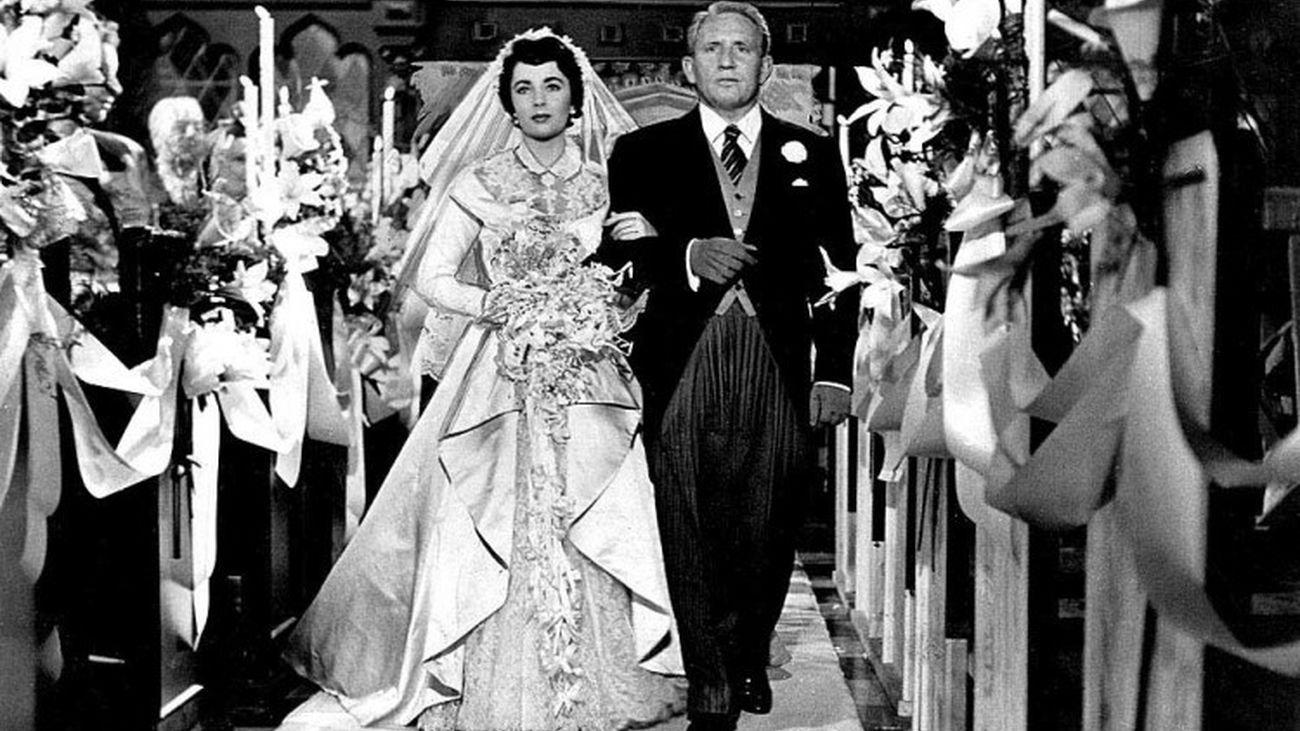 Spencer Tracy es 'El padre de la novia'