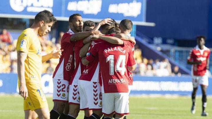 0-1. El Nàstic mantiene al Alcorcón en caída libre