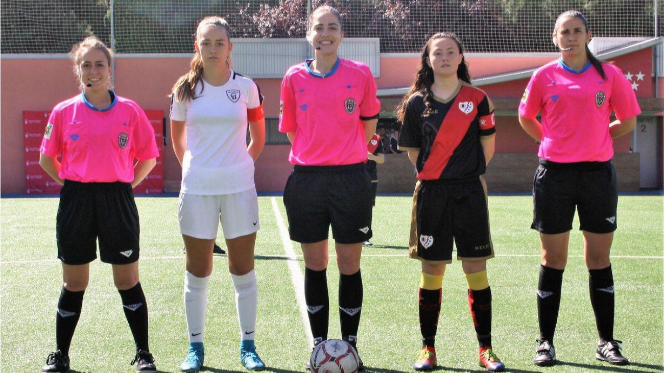 Resumen de Fundación Rayo Vallecano - Madrid CFF  (0-1)