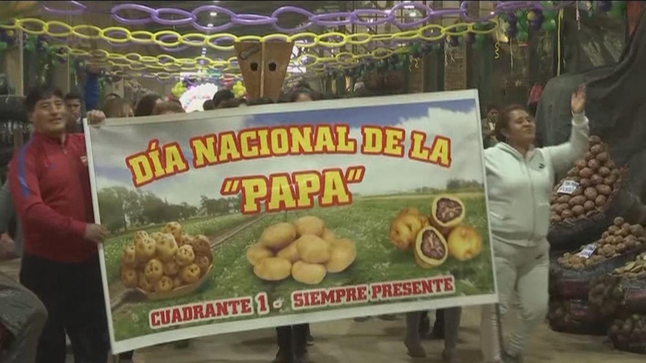 Décimo festival de la patata en Perú, más de 3.500 variedades