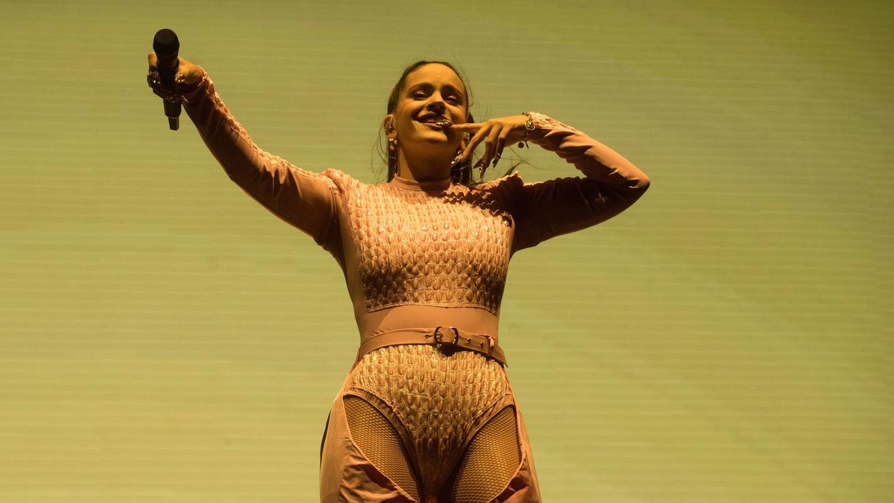 Rosalía muestra su poderío en el festival Primavera Sound de Barcelona