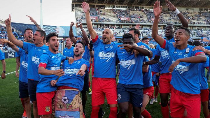 1-1. Histórico ascenso del Fuenlabrada a Segunda División