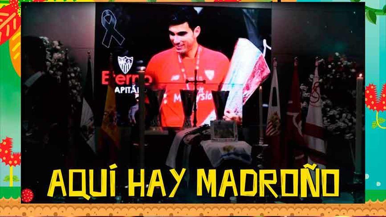 Así ha sido el último adiós al futbolista José Antonio Reyes