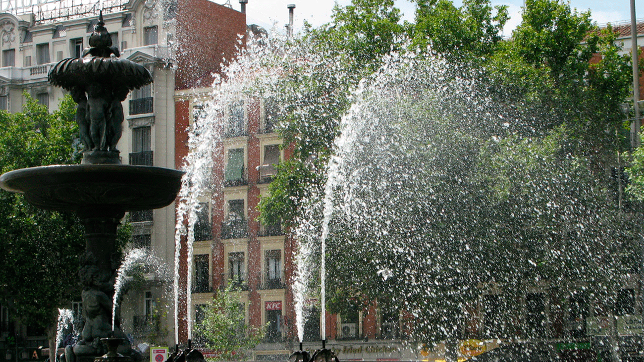 Planes en Madrid para 'no morir' de calor