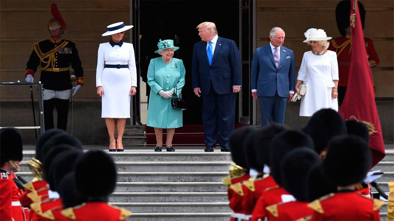 Trump inicia con polémica su visita al Reino Unido