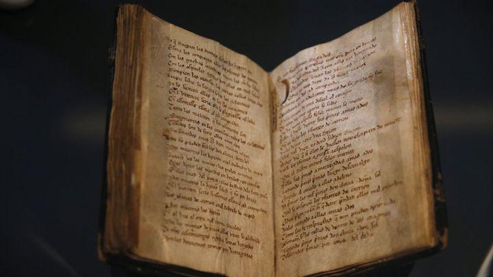 El Códice del Mio Cid se muestra por primera vez en la Biblioteca Nacional