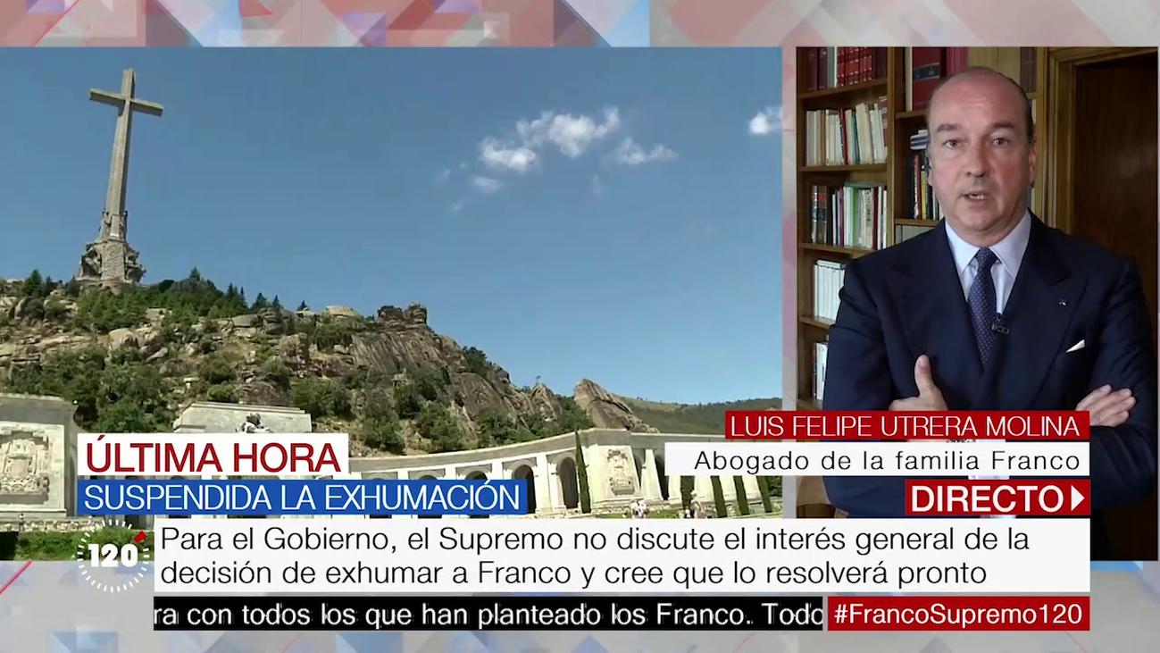 """El abogado de la familia Franco: """"El TS ha puesto en su sitio al Gobierno"""""""