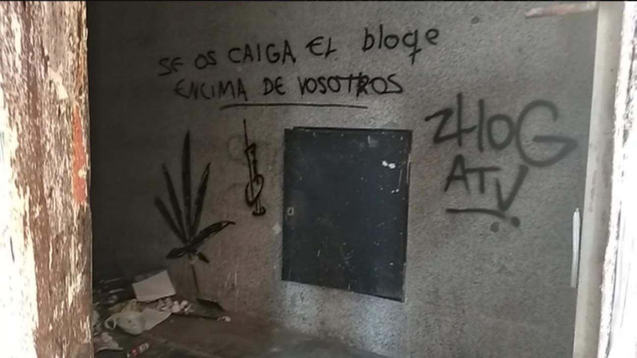La mafia rumana 'okupa' un edificio completo en la calle Toledo