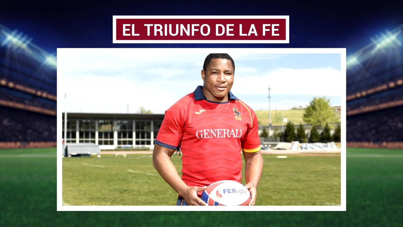 Tití, de inmigrante ilegal a jugar con la selección española de rugby