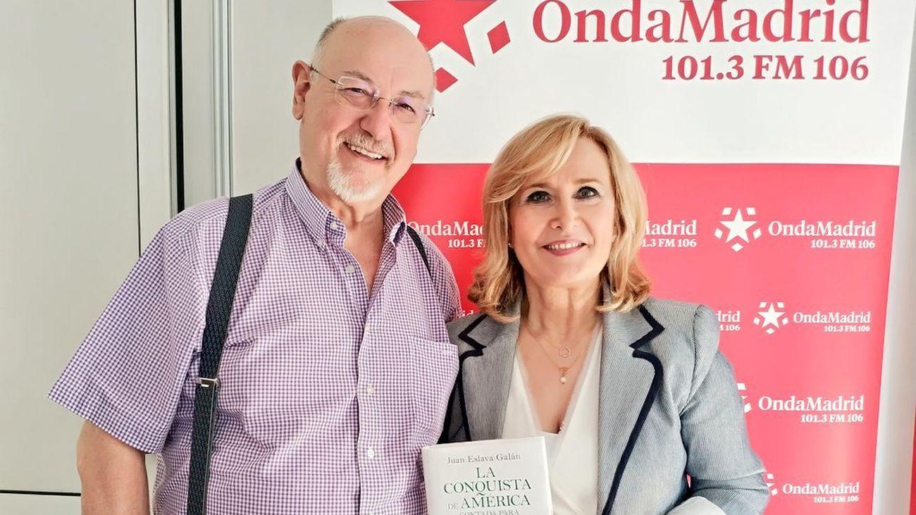 Juan Eslava Galán nos presenta su novela 'La conquista de América contada para escépticos'