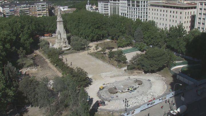 La Comunidad de Madrid paraliza las obras de Plaza de España