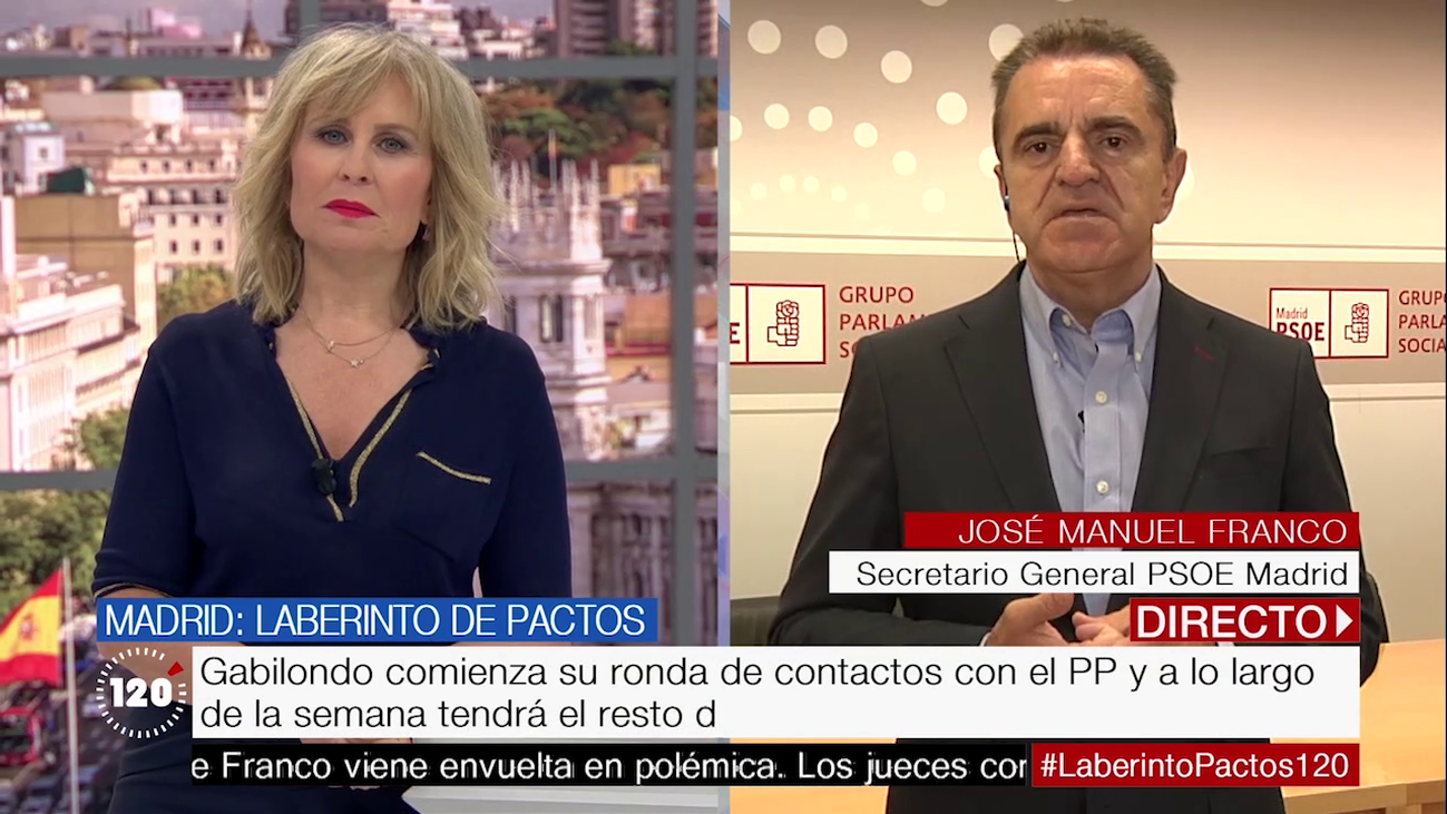 """Franco: """"Para que gobierne la derecha tienen que contar con Vox y eso se le olvida a Aguado"""""""