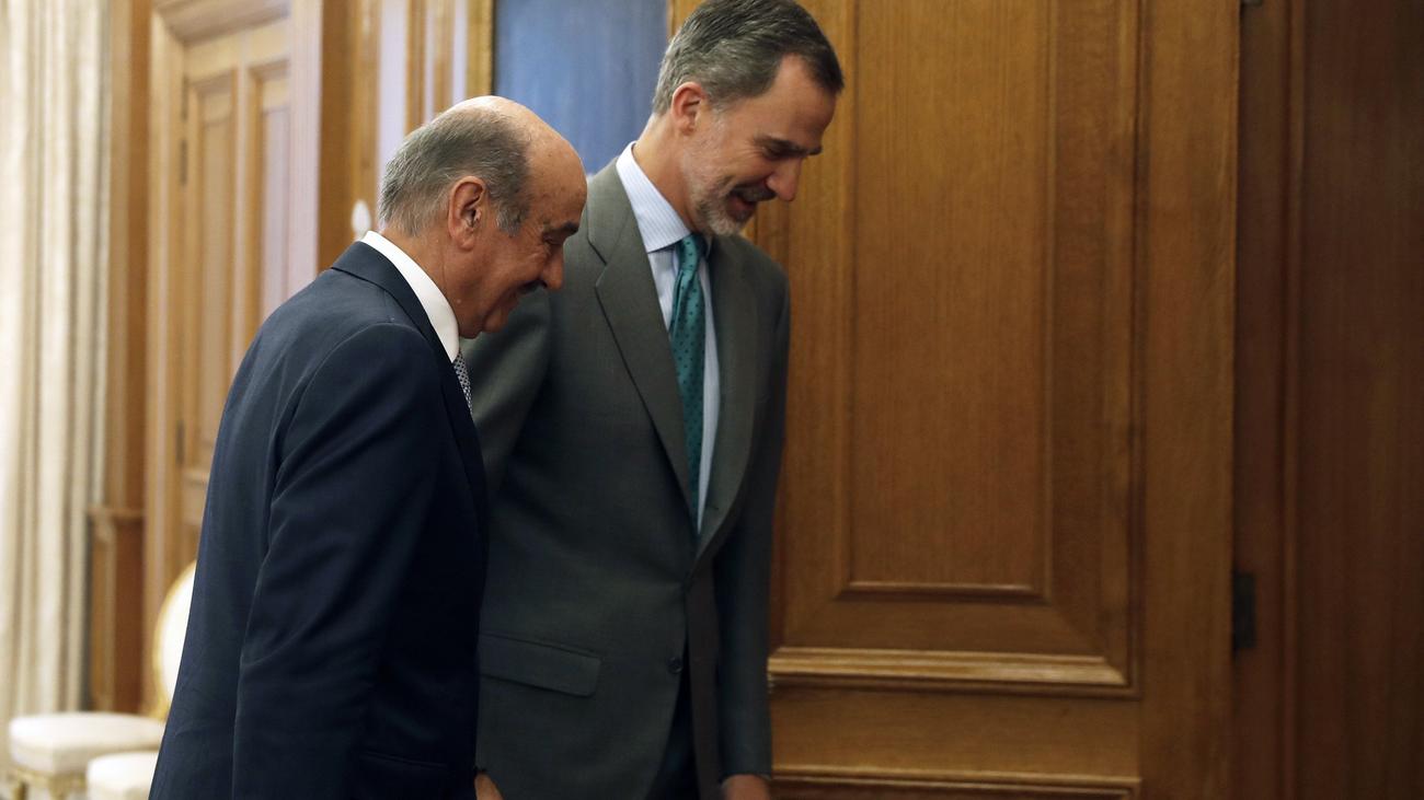 El rey Felipe inicia la ronda de consultas de cara a la investidura