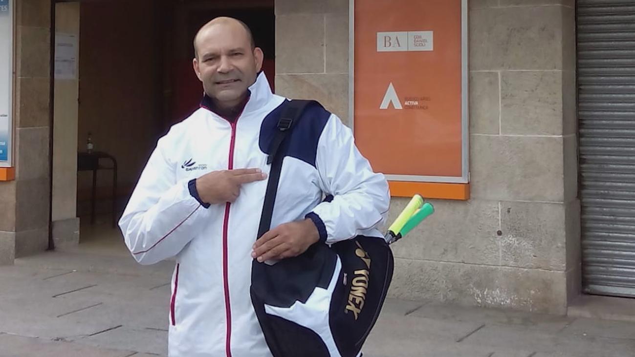 Martín Carrasco, trasplantado renal, el deporte le cambió la vida