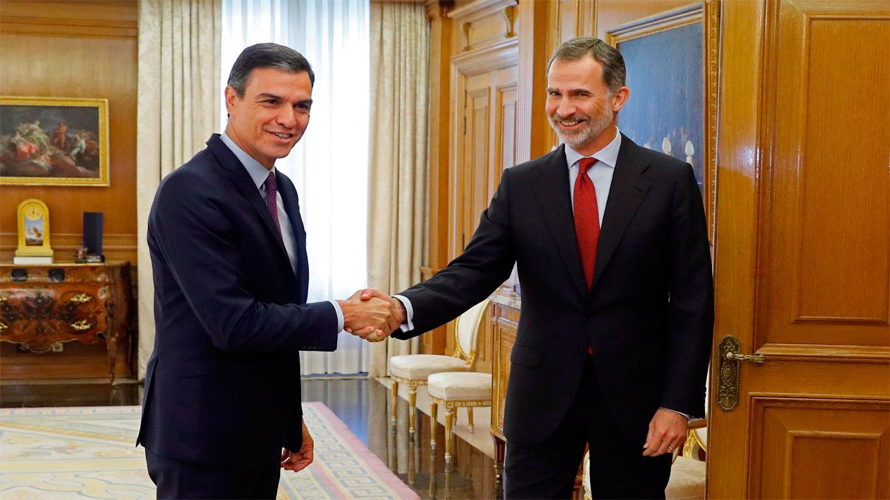 El rey propone a Pedro Sánchez como candidato a la Presidencia del Gobierno