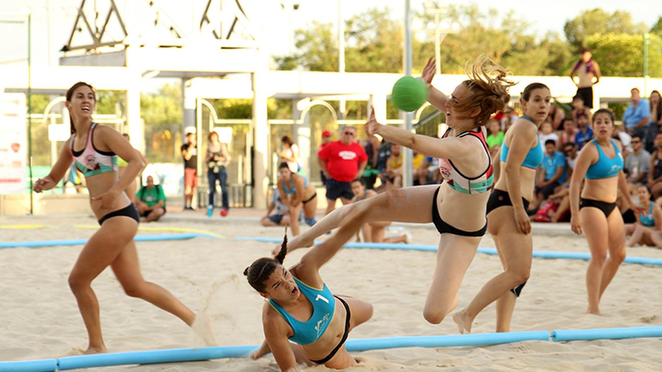 La liga de balonmano playa se decide en La Otra