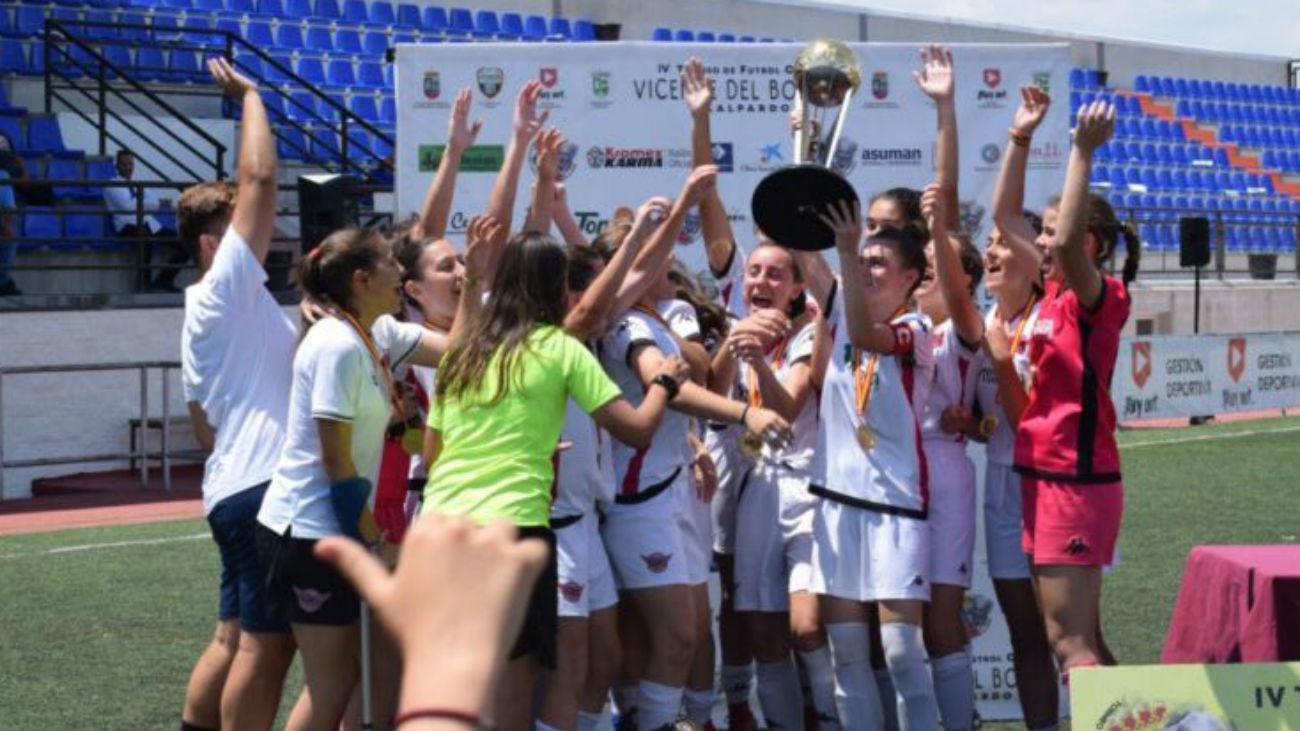 At. Madrid-CD Tacón, final de la Copa Campeonas Juvenil en La Otra