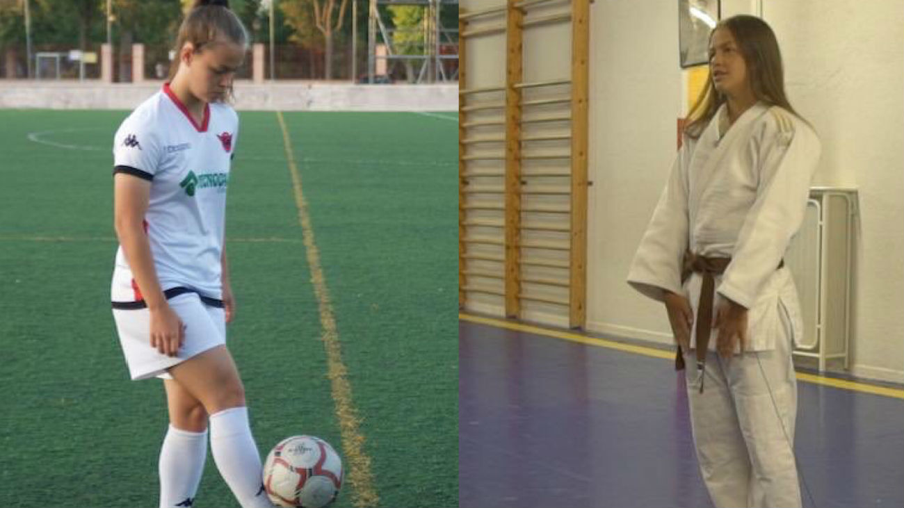 La doble vida de María Portolés, judoca y futbolista del Tacón