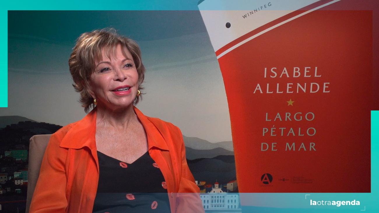 """Entrevista a Isabel Allende: """"vivir sin raíces marca"""""""
