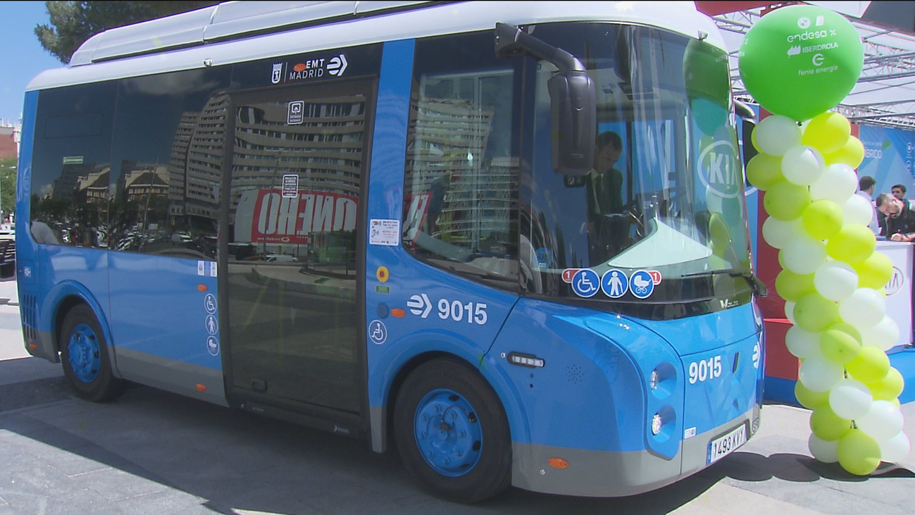 Feria del Vehículo Eléctrico de Madrid presenta novedades en la EMT