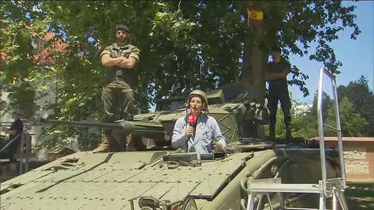 Madrid Río acoge una exposición de material militar este fin de semana