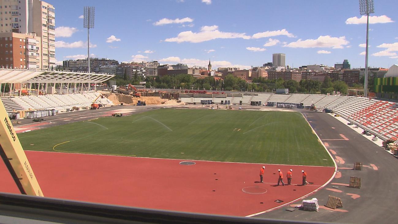 El estadio de Vallehermoso encara la cuenta atrás