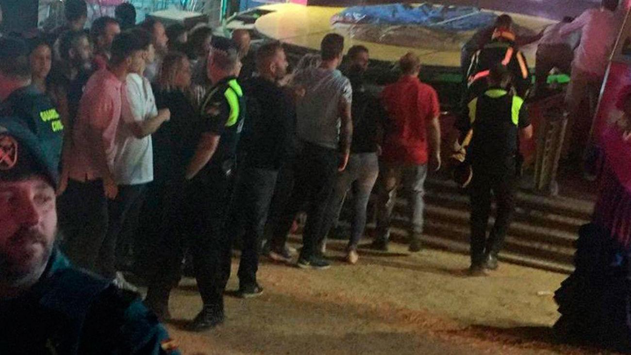 Heridas 28 personas tras desprenderse una atracción  en la feria de San José de la R     Heridas 28 personas tras desprenderse una atracción  en la feria de San José de la Rinconada (Sevilla)