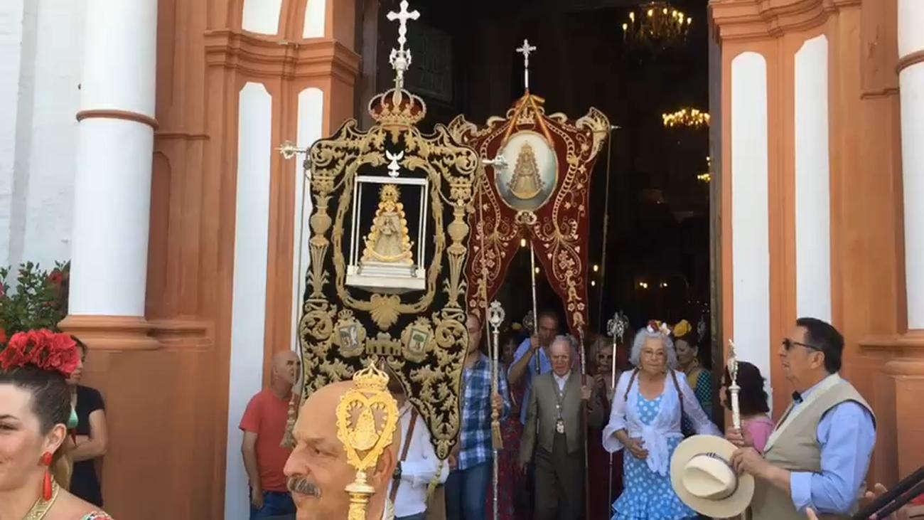Las cinco Hermandades Filiales de Madrid peregrinan a un Rocío centenario