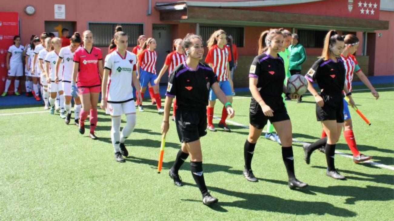 Resumen del Atlético Femenino-CD Tacón (1-4)