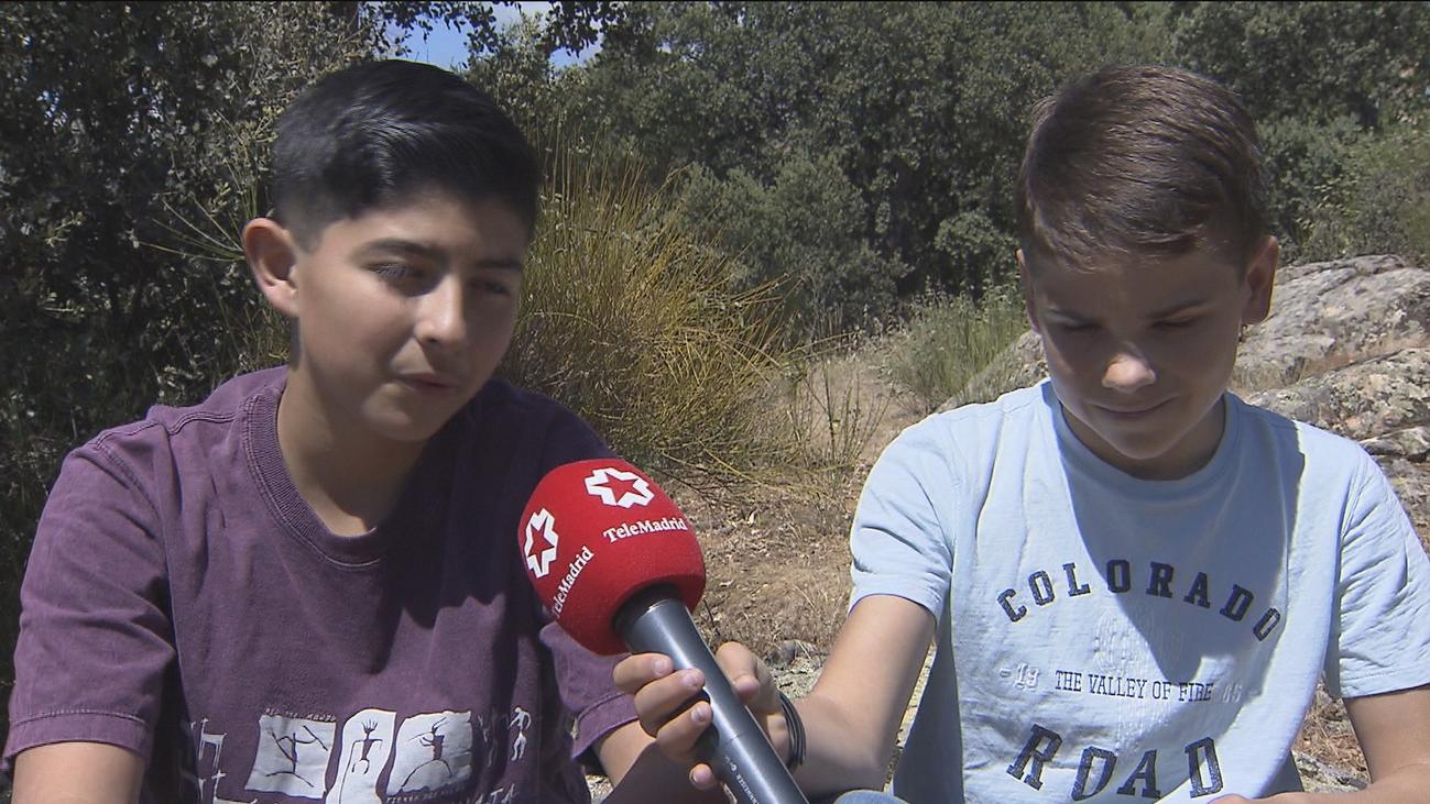 Dos alumnos de Alpedrete se llevan el premio internacional al mejor reportaje de Medio Ambiente