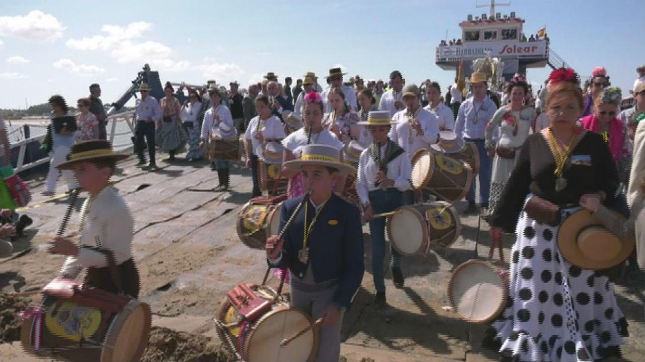 El Rocío afronta este domingo su última jornada de Romería
