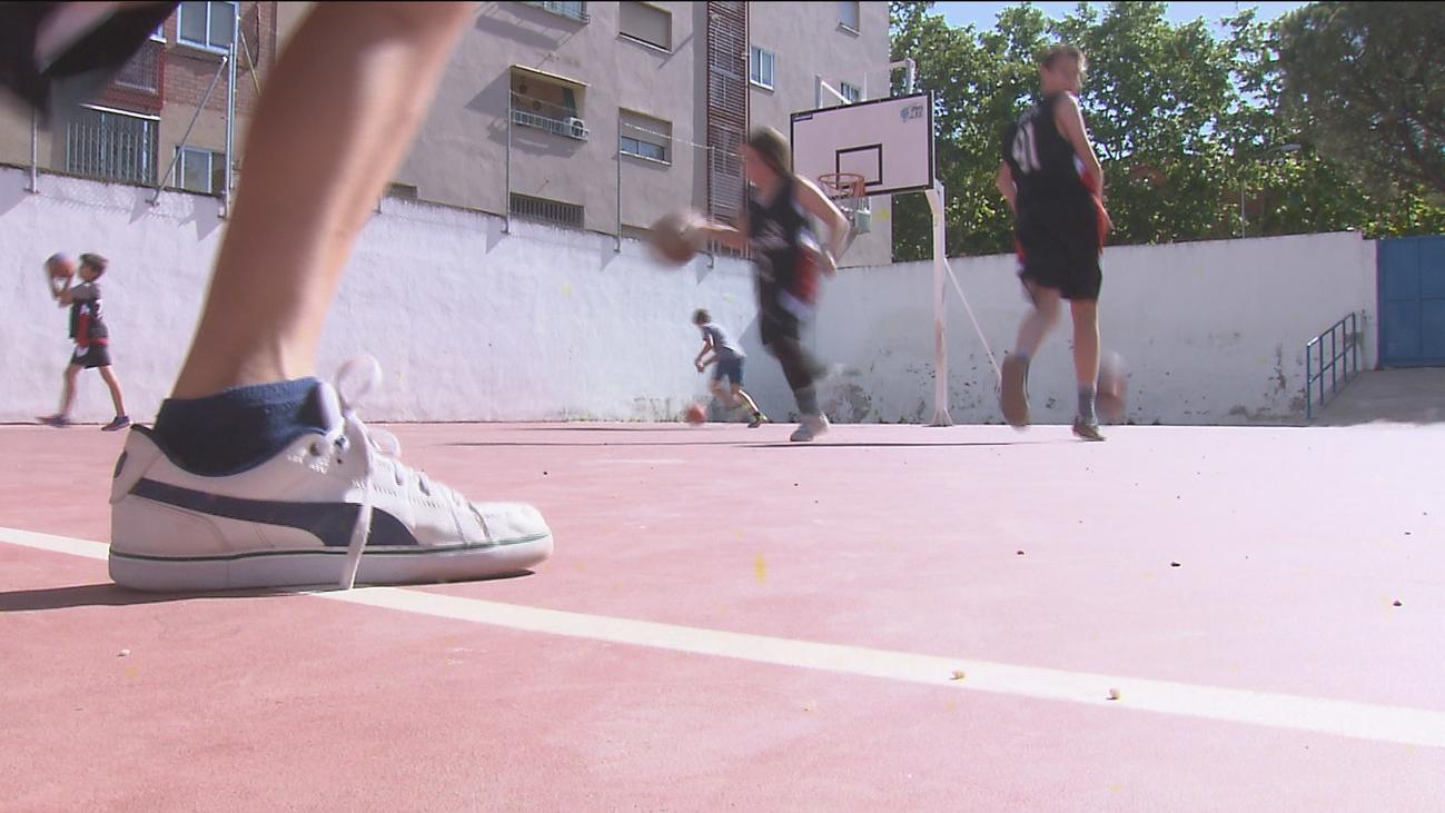 Las jornadas del deporte infantil en la Caja Mágica dejan sin cancha de baloncesto a más de 600 niños