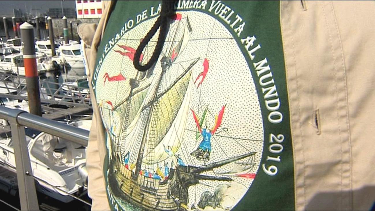Dos madrileños rinden homenaje al V centenario de la primera vuelta al mundo