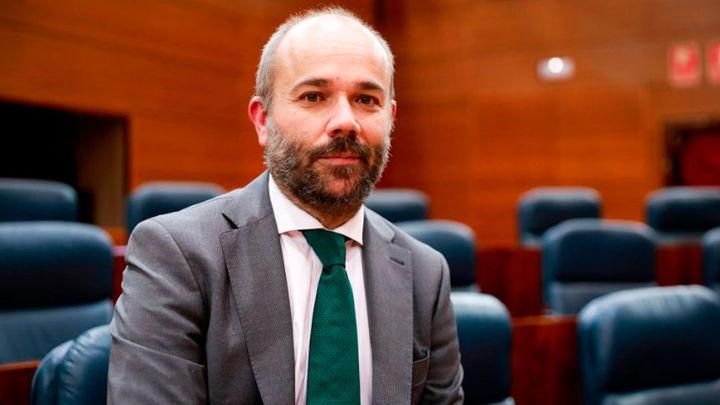 Juan Trinidad, el candidato de Ciudadanos para presidir la Asamblea de Madrid
